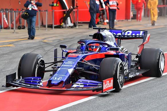 Daniil Kvyat Toro Rosso Barcelona F1 testing 2019