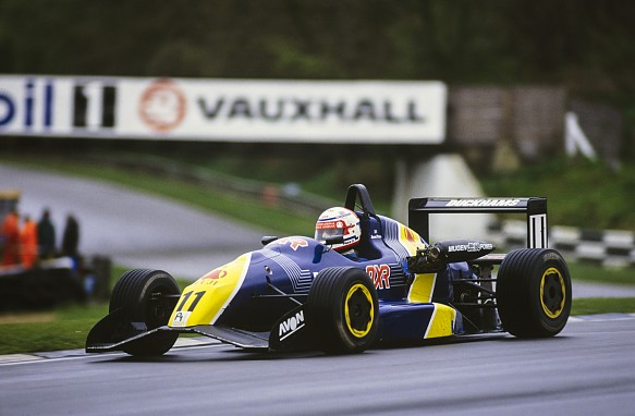 Jason Plato 1992 British Formula 3 P1 Motorsport Van Diemen
