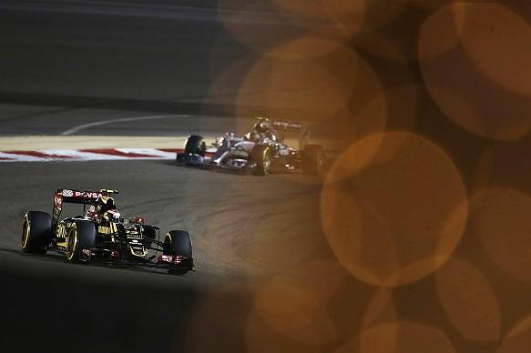 Maldonado Rosberg Bahrain Grand Prix 2015