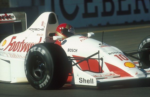 Alex Caffi Footwork Porsche F1 1991