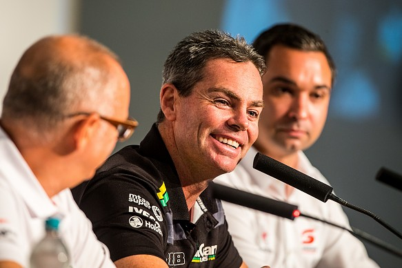 Craig Lowndes Triple Eight Supercars 2018