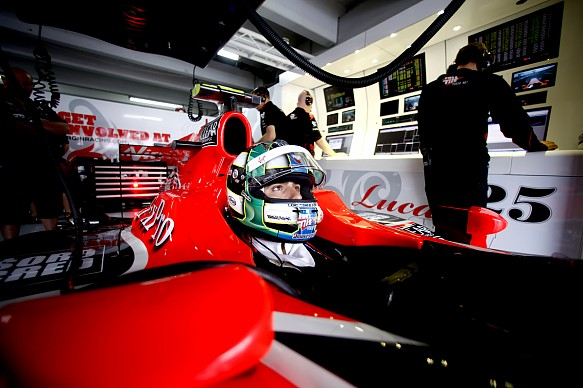 Lucas di Grassi Virgin 2010