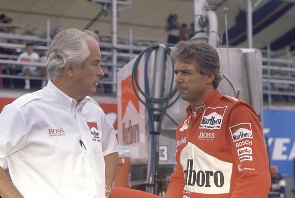 Rick Mears and Roger Penske 1991