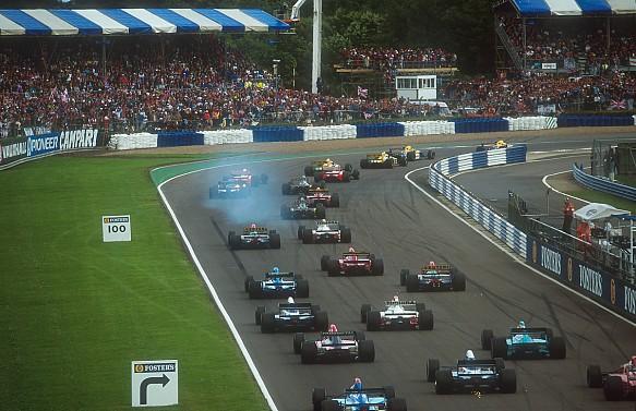 1992 British Grand Prix F1 start
