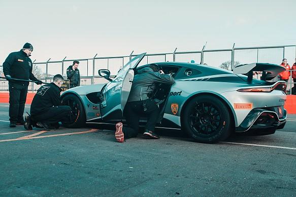 Alex Toth-Jones Academy Aston Martin Vantage GT4 British GT