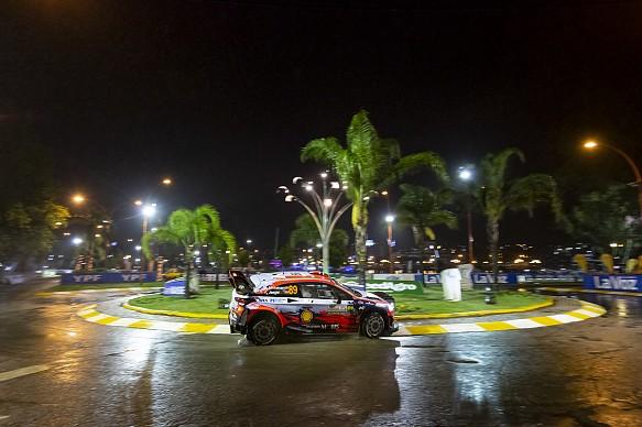 Andreas Mikkelsen Hyundai WRC Rally Argentina 2019