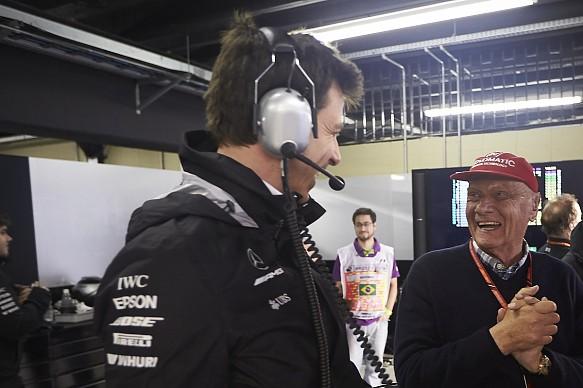 Wolff Lauda Mercedes F1