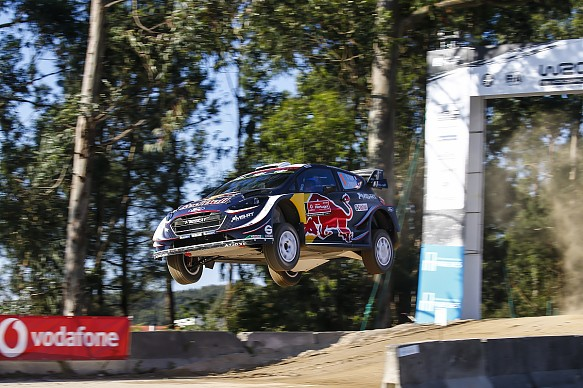 Sebastien Ogier M-Sport Portugal WRC 2018