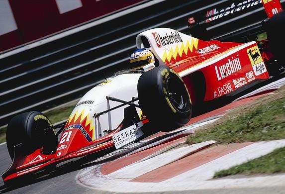 Luca Badoer Scuderia Italia 1993