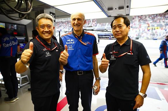 Franz Tost Honda Toro Rosso 2018