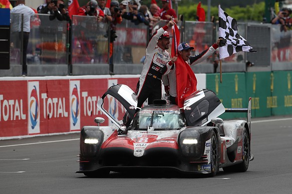 Alonso Le Mans Toyota 2018