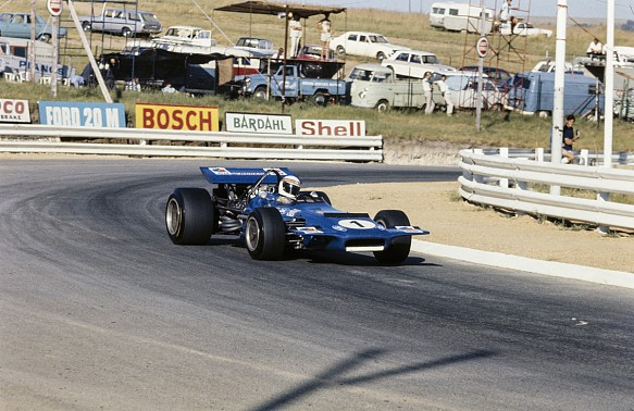 Jackie Stewart March 701 Kyalami 1970