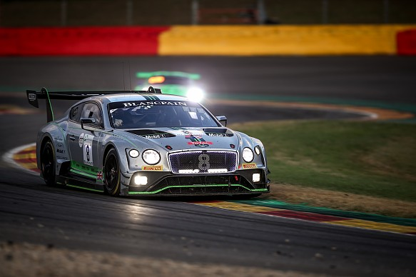 Andy Soucek M-Sport Bentley Continental GT3 Spa 24 Hours 2018