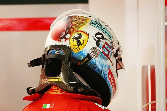 Sebastian Vettel HANS