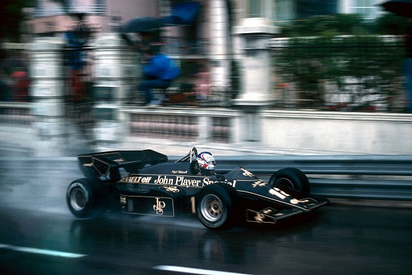 Nigel Mansell, Lotus, 1984 Monaco Grand Prix