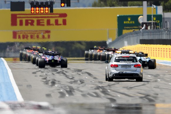 French Grand Prix 2019 start lights