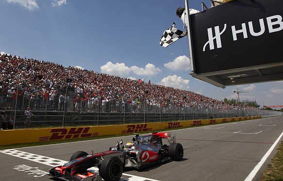 Hamilton McLaren Canada 2010 F1