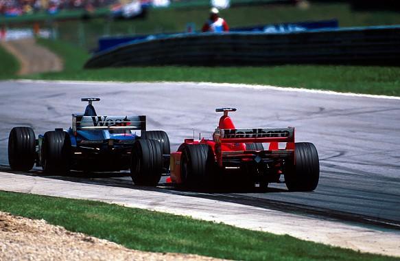 Mika Hakkinen and Michael Schumacher 1998