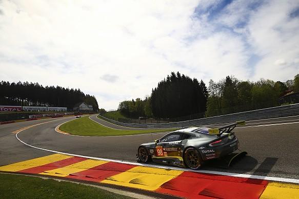 Aston Martin Pedro Lamy Mathias Lauda Paul Dalla Lana WEC Spa
