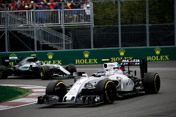 Valtteri Bottas Williams Canadian Grand Prix 2016