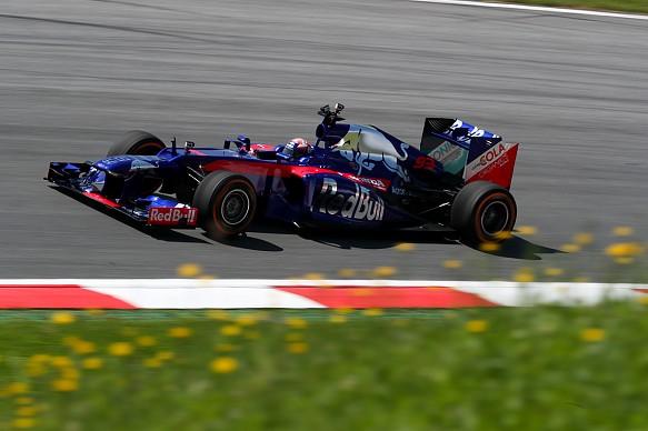 Marc Marquez Toro Rosso test F1 2018