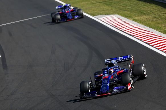 Daniil Kvyat Alex Albon Toro Rosso Hungarian GP 2019