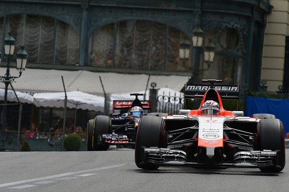 Jules Bianchi Marussia Monaco GP 2014