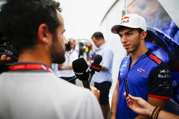 Pierre Gasly Toro Rosso Canadian Grand Prix 2018