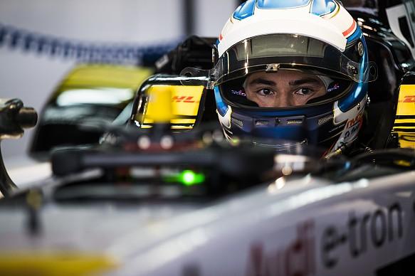 Nyck de Vries Audi Formula E Marrackech 2018