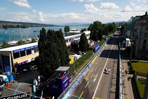 Felix Rosenqvist Mahindra Racing Formula E Zurich ePrix 2018