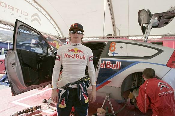 Kimi Raikkonen WRC 2010