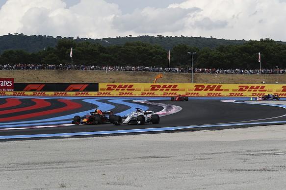 Daniel Ricciardo and Marcus Ericsson French GP 2018