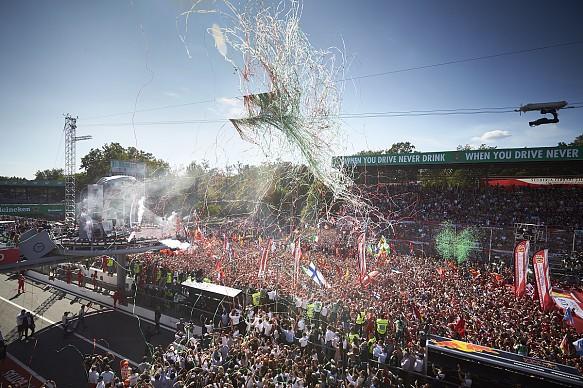 Italian Grand Prix 2017 fans