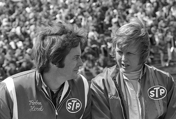 Robin Herd Ronnie Peterson 1971
