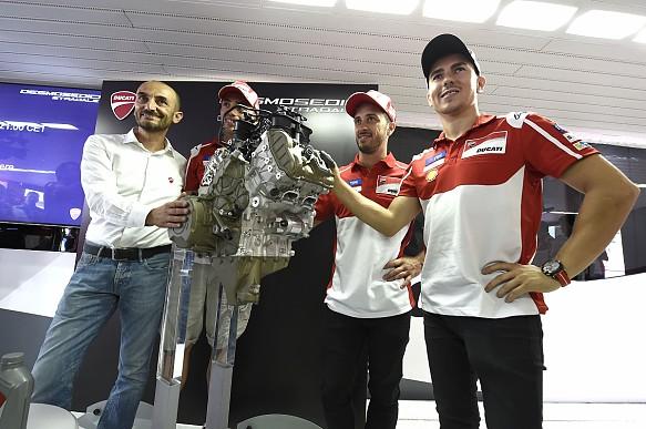 Lorenzo Domenicali 2017 Ducati MotoGP