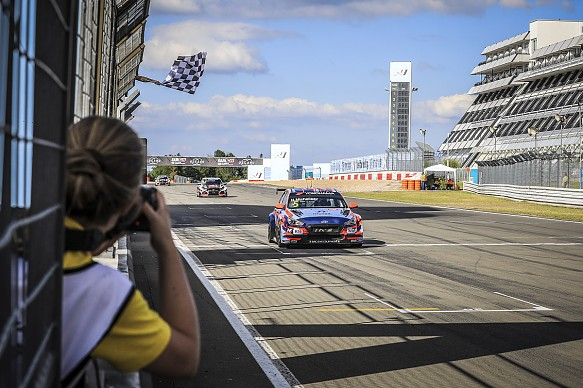 Norbert Michelisz BRC Hyundai Nurburgring WTCR 2019